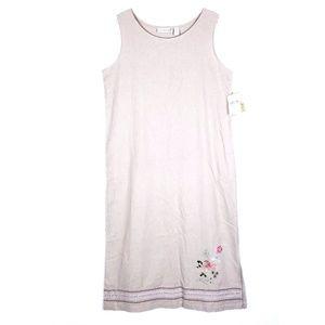 Jane Ashley Simple Maxi  Dress Sequin Floral